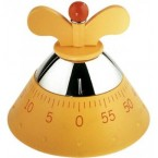 "Contaminuti Alessi ""Kitchen Timer"",giallo"